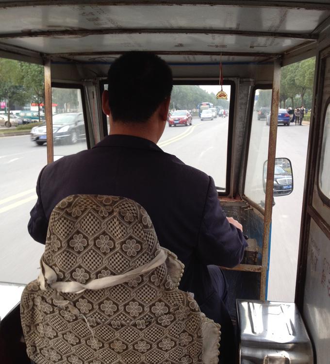 中国 三輪タクシー